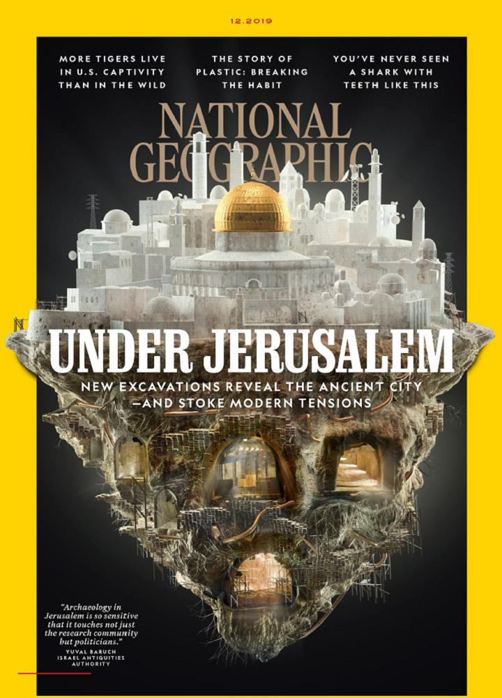 [美国版]国家地理 National Geographic 2019年12月 美国版 国家地理 月刊 第1张