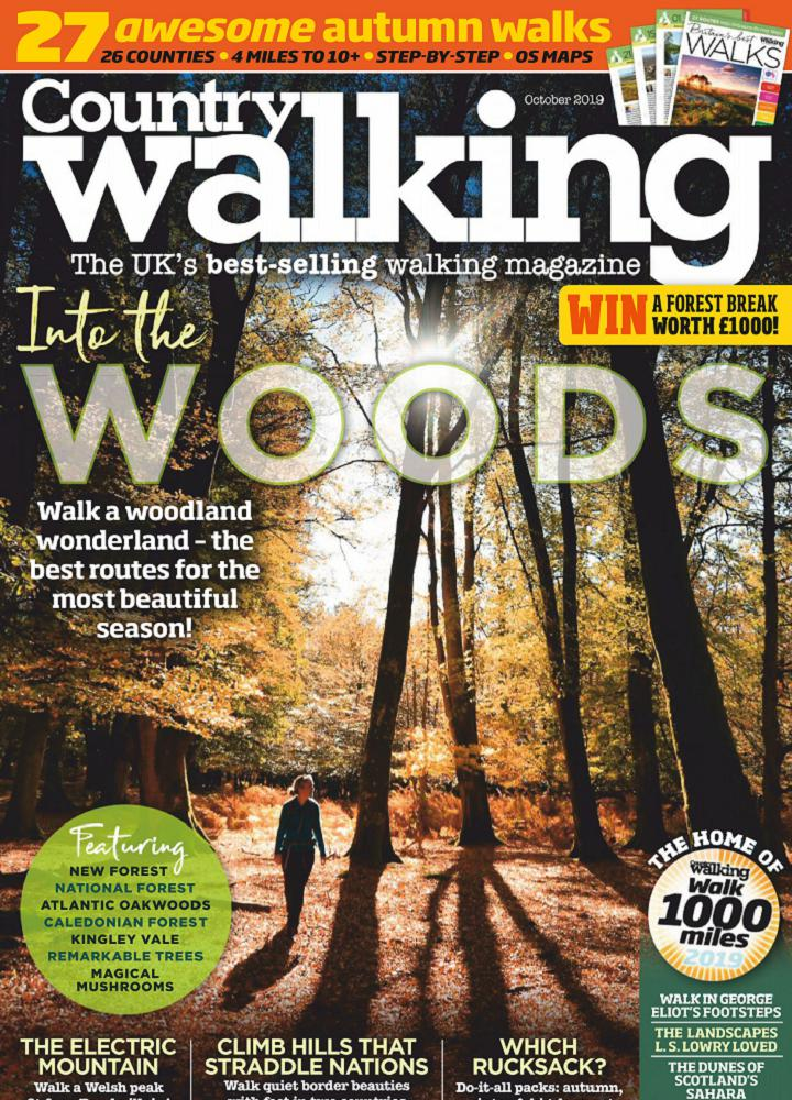 [英国版]Country Walking 2019年10月 Country Walking 英国版 月刊 第1张