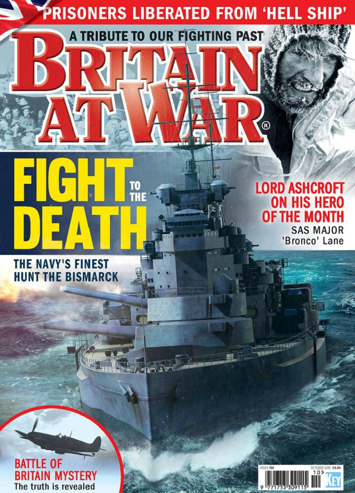 [英国版]Briain at war 2019年10月 英国版 Briain at war 月刊 第1张