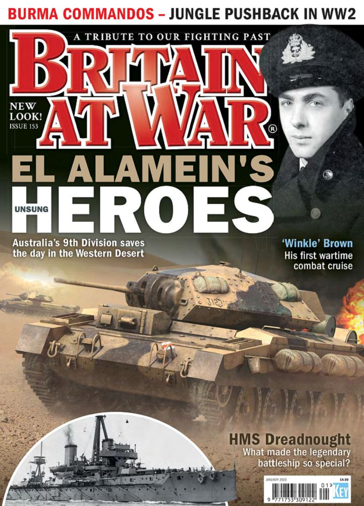 [英国版]Briain at war 2020年01月 英国版 Briain at war 月刊 第1张