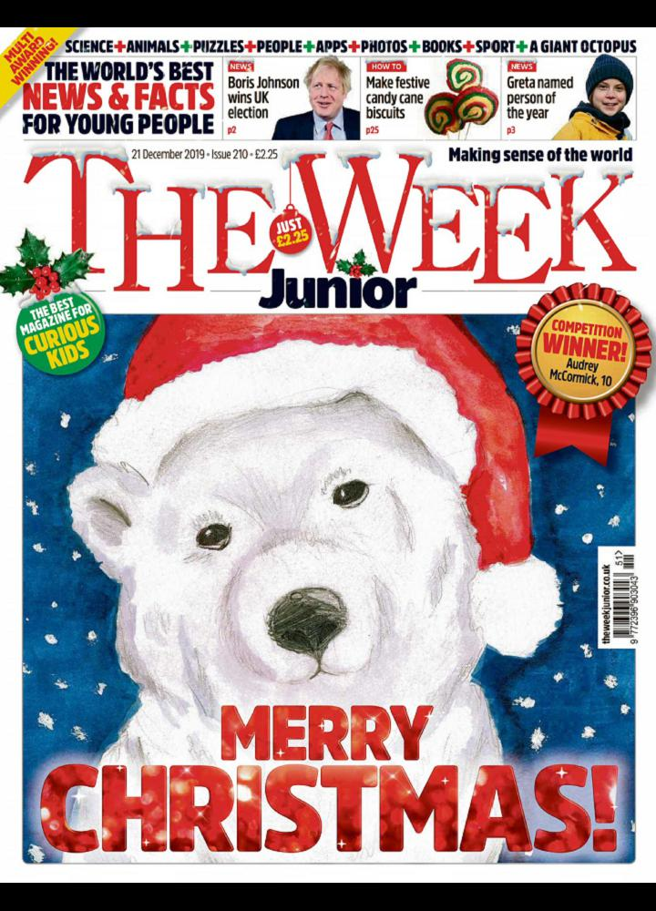[英国版]The Week Junior 2019.12.21 英国版 The Week Junior 周刊 第1张