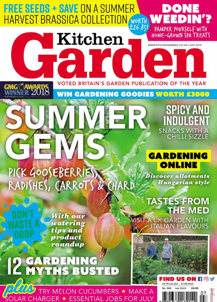 [英国版]Kitchen Garden 2019年07月 英国版 Kitchen Garden 月刊 第1张