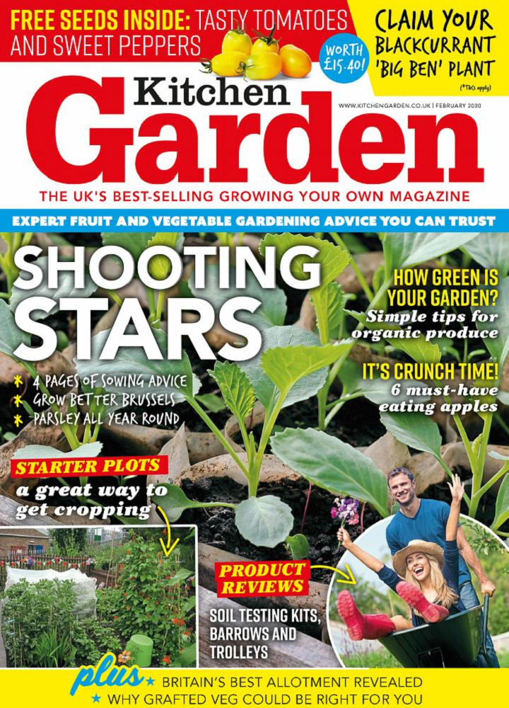[英国版]Kitchen Garden 2020年01月 英国版 Kitchen Garden 月刊 第1张