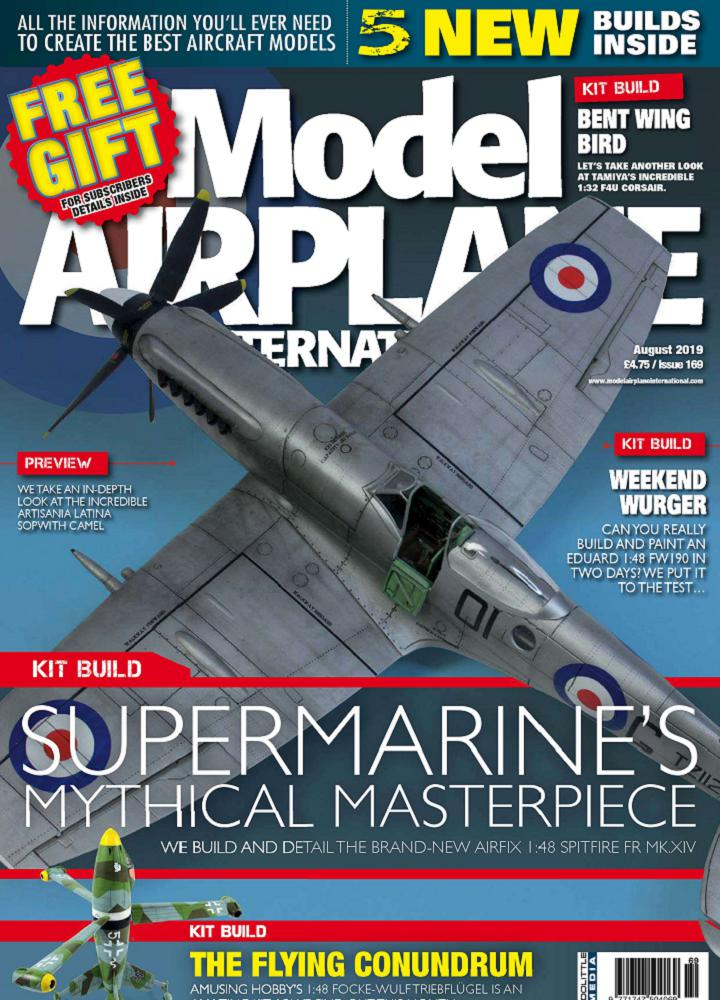 [英国版]Model Airplane International - 2019年08月