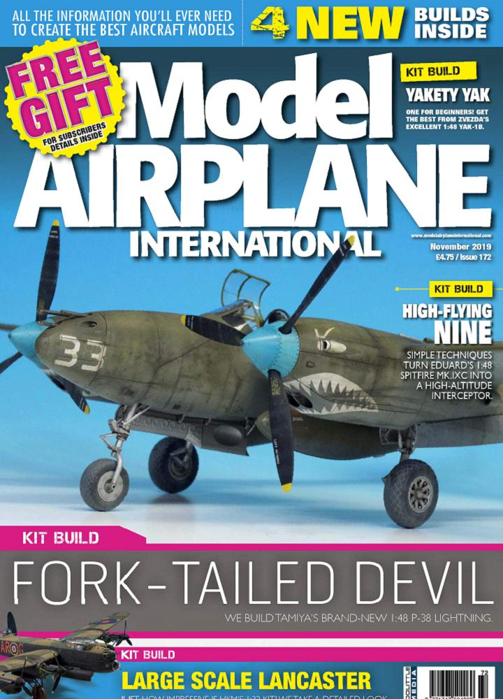 [英国版]Model Airplane International - 2019年11月