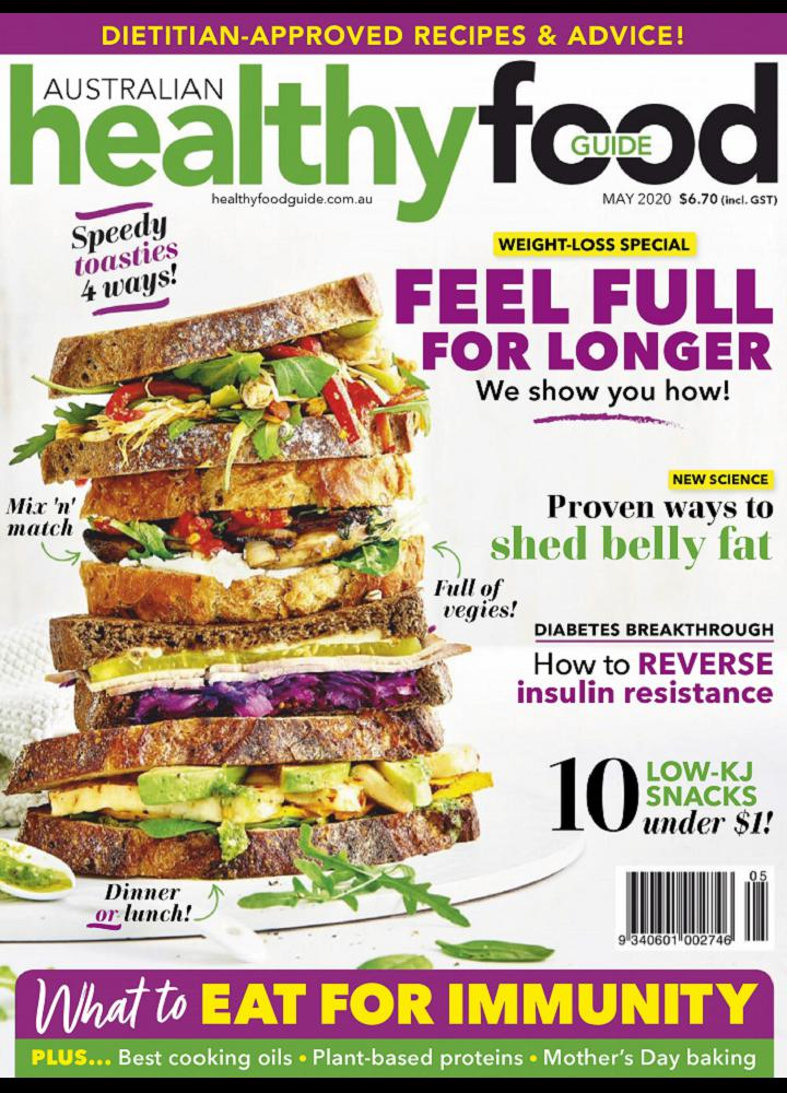 [澳大利亚版]Australian Healthy Food Guide 2020年05月 Australian Healthy Food Guide 澳大利亚版 月刊 第1张