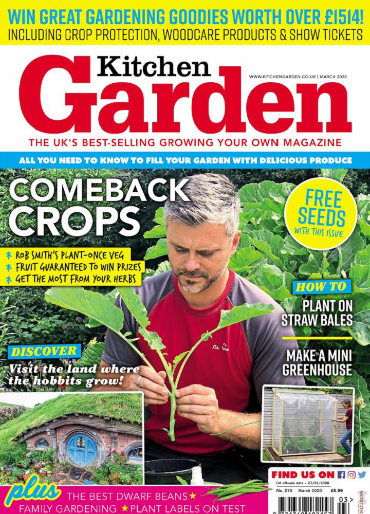 [英国版]Kitchen Garden 2020年03月 英国版 Kitchen Garden 月刊 第1张