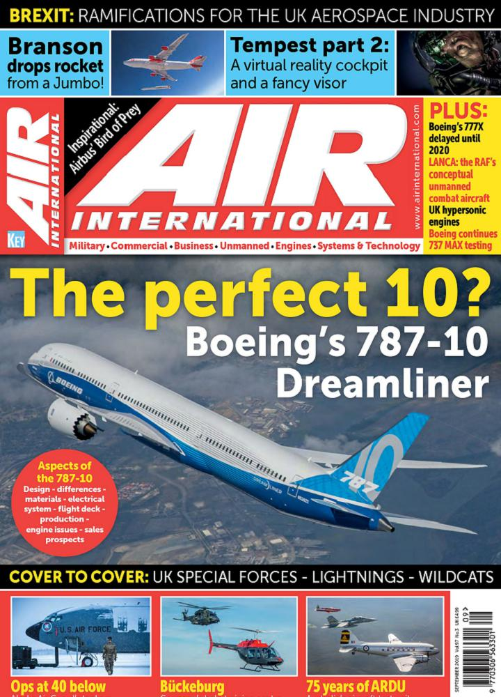 [美国版]AIR International 2019年09月 AIR International 美国版 月刊 第1张