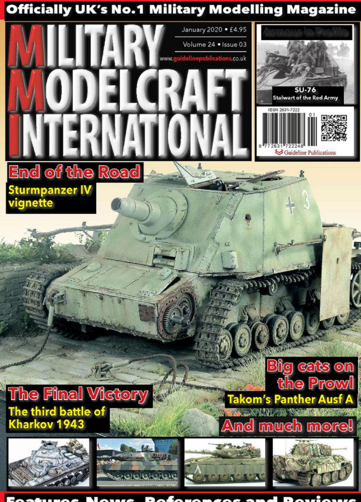 [美国版]Military Modelcraft International 2020年01月 Military Modelcraft International 美国版 月刊 第1张