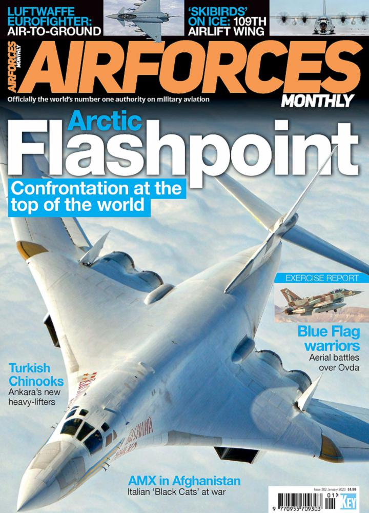 [英国版]Airforces Monthly 2020年01月 英国版 Airforces Monthly 月刊 第1张