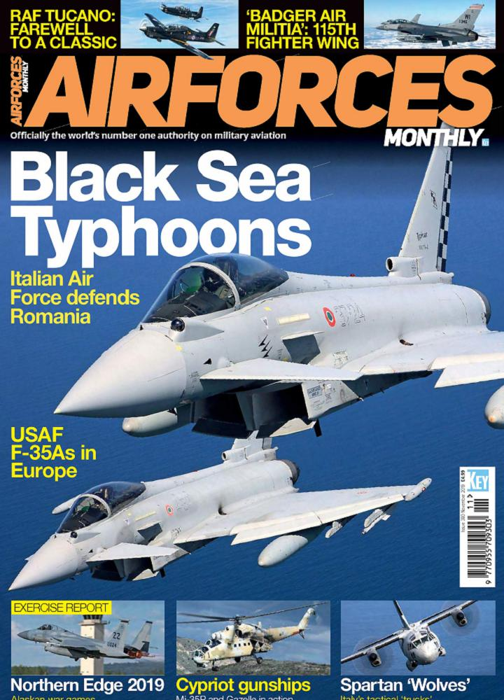 [英国版]Airforces Monthly - 2019年11月