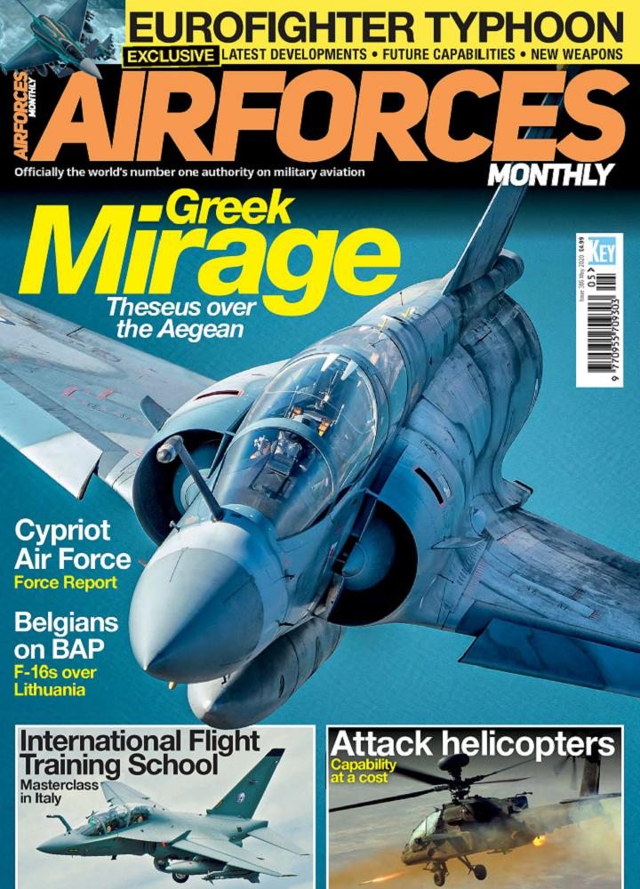 [英国版]Airforces Monthly - 2020年05月