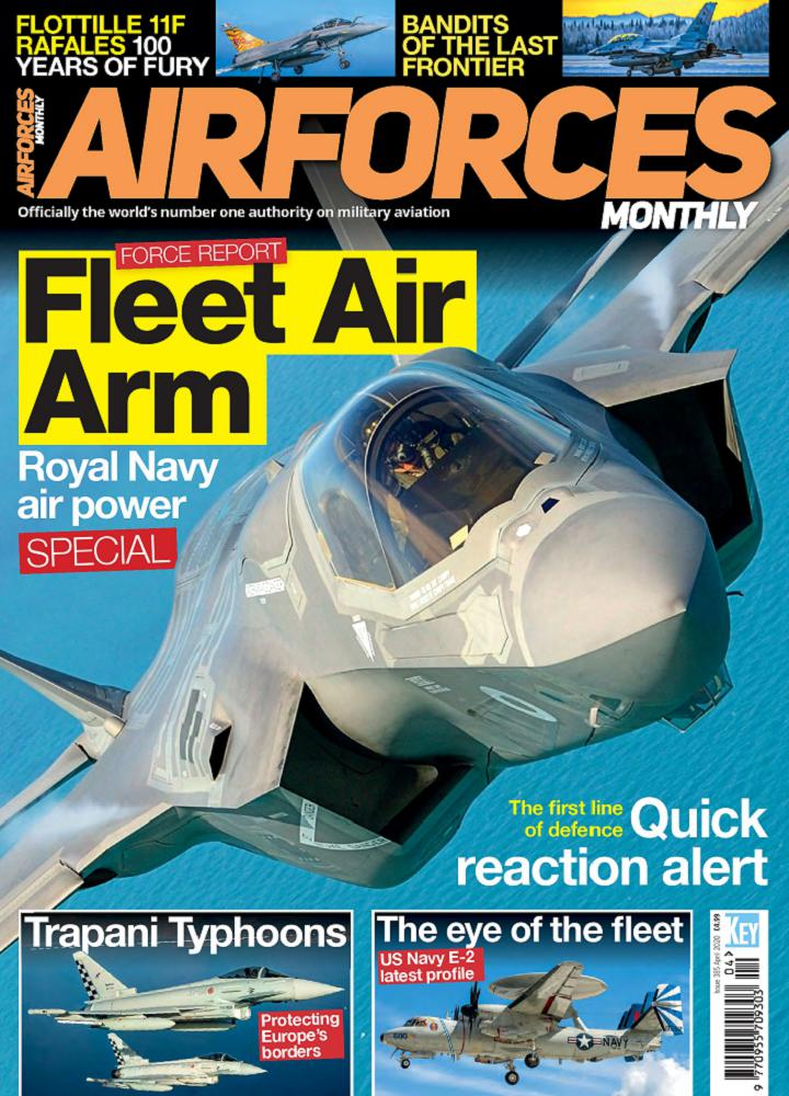 [英国版]Airforces Monthly 2020年04月 英国版 Airforces Monthly 月刊 第1张