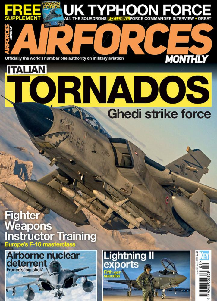 [英国版]Airforces Monthly - 2020年03月