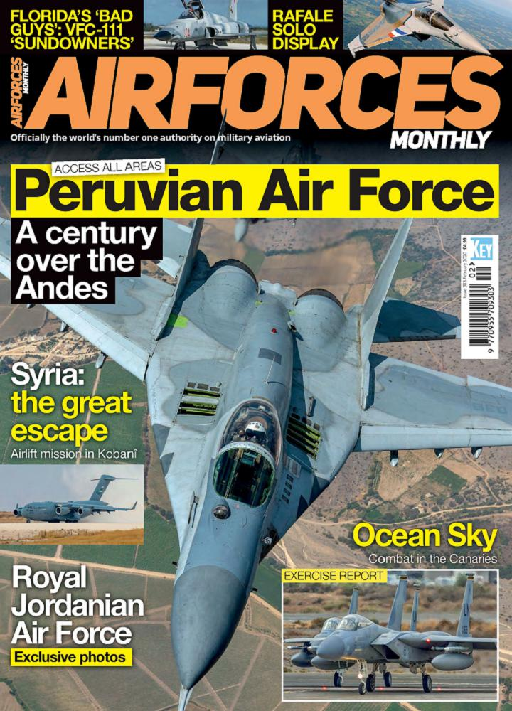 [英国版]Airforces Monthly - 2020年02月