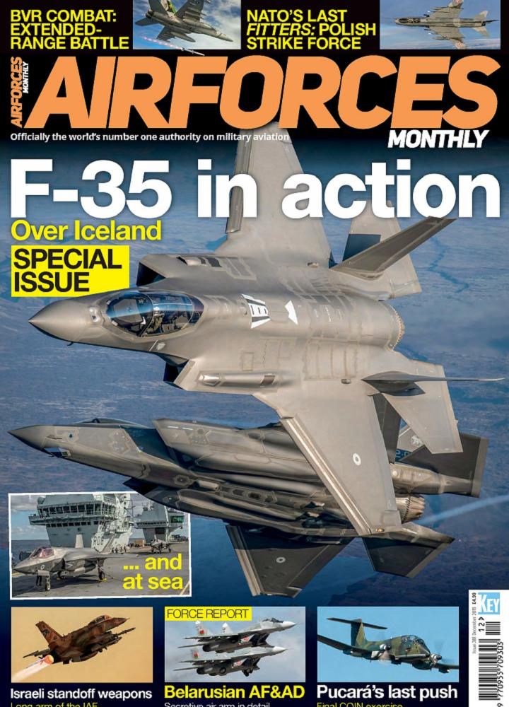 [英国版]Airforces Monthly 2019年12月 英国版 Airforces Monthly 月刊 第1张