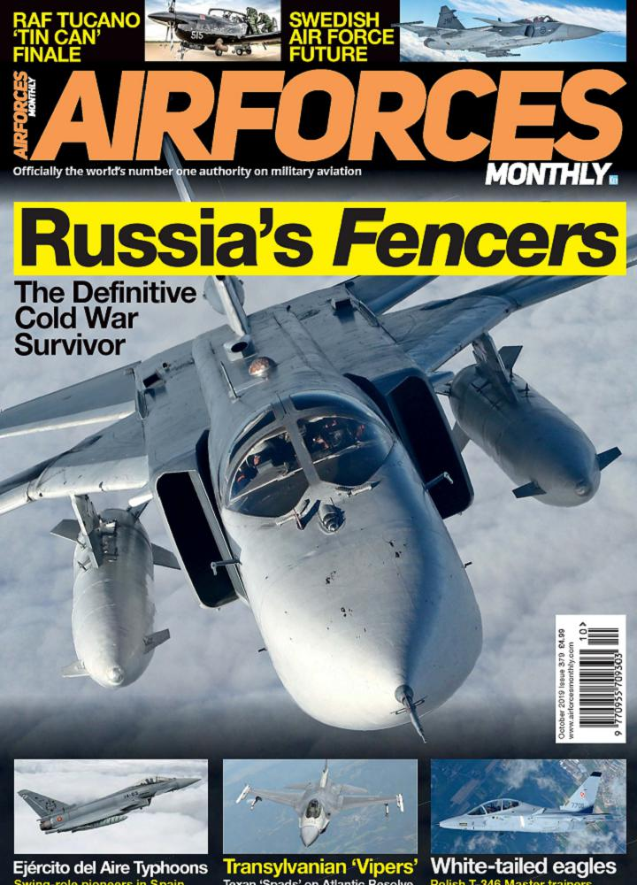 [英国版]Airforces Monthly - 2019年10月