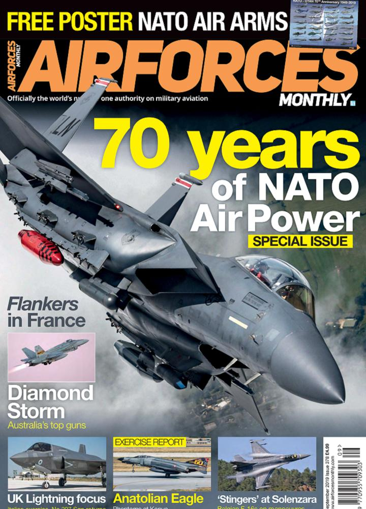 [英国版]Airforces Monthly - 2019年09月
