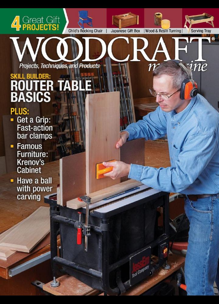 [美国版]Woodcraft Magazine - 2018年12月