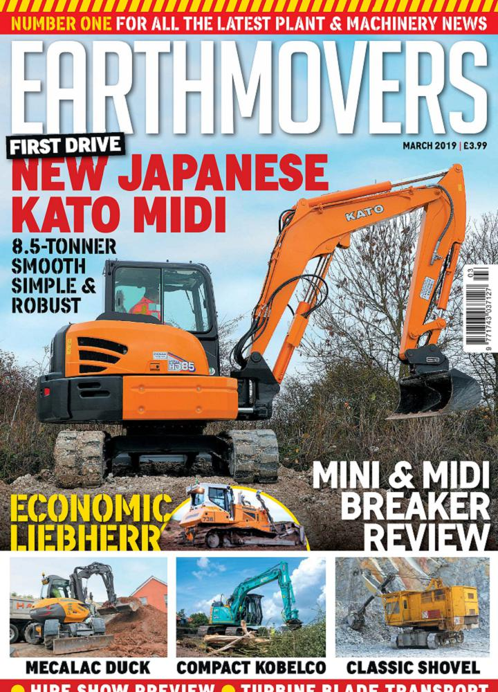 [英国版]Earthmovers 2019年03月 Earthmovers 英国版 月刊 第1张