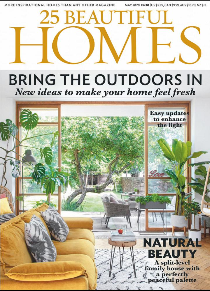 [英国版]25 Beautiful Homes 2020年05月 英国版 25 Beautiful Homes 月刊 第1张