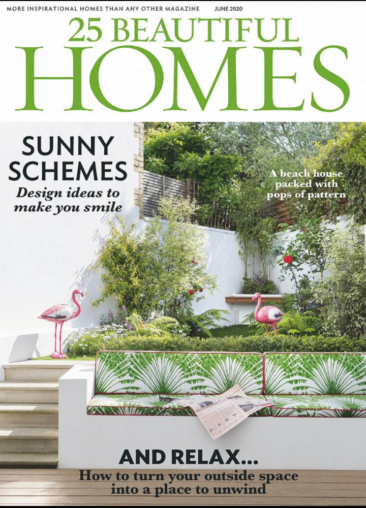 [英国版]25 Beautiful Homes 2020年06月 英国版 25 Beautiful Homes 月刊 第1张