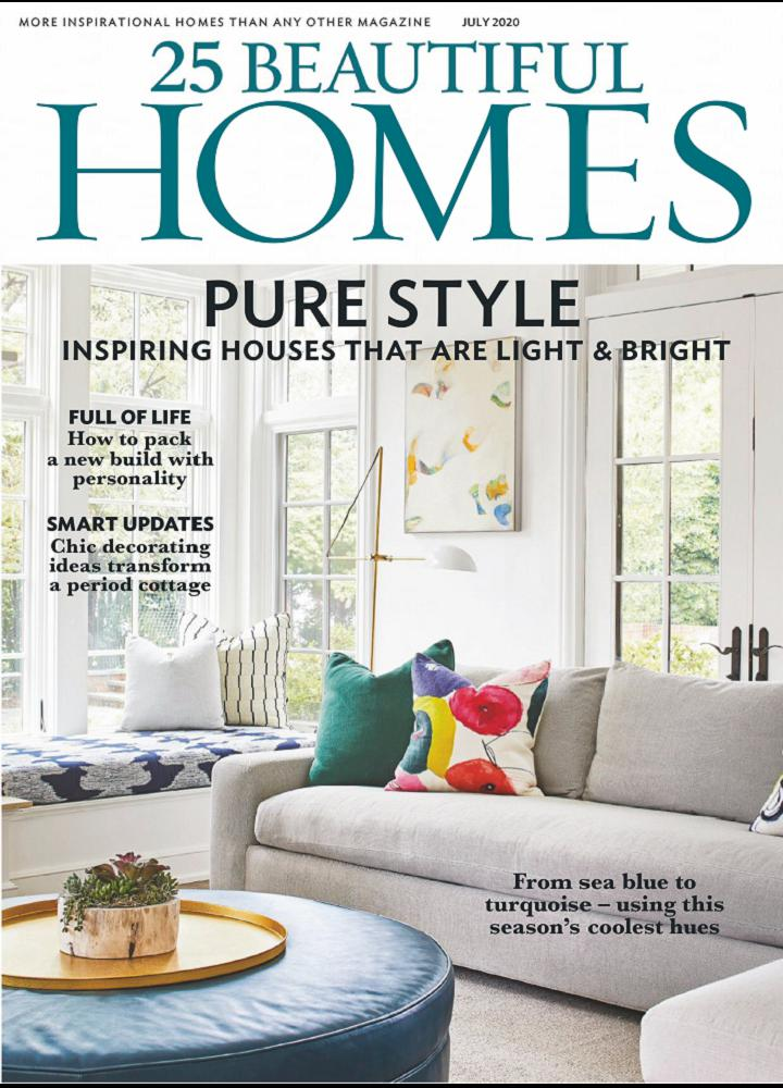 [英国版]25 Beautiful Homes 2020年07月 英国版 25 Beautiful Homes 月刊 第1张