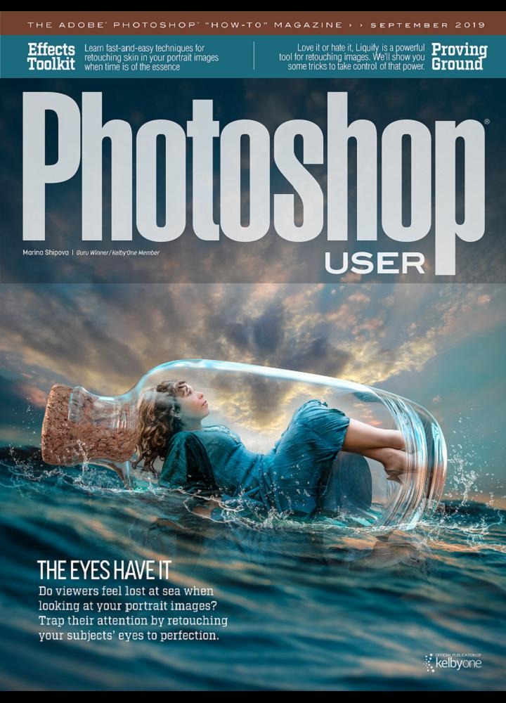 [美国版]Photoshop User 2019年09月 美国版 Photoshop User 月刊 第1张