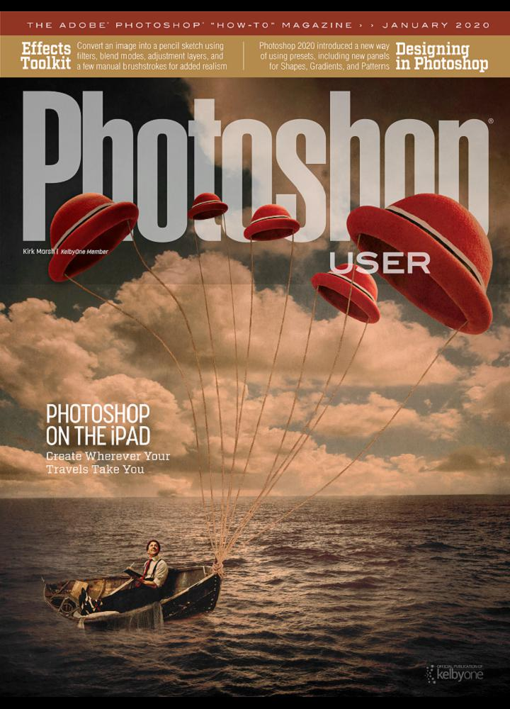 [美国版]Photoshop User 2020年01月 美国版 Photoshop User 月刊 第1张