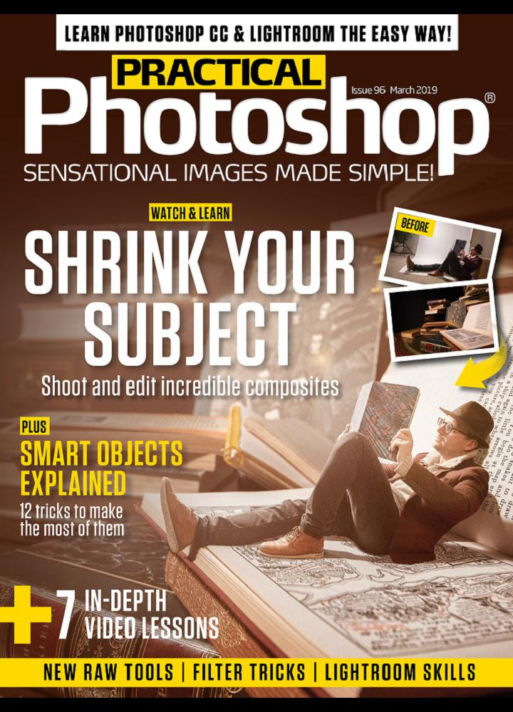 [美国版]Practical Photoshop 2019年03月 美国版 Practical Photoshop 月刊 第1张