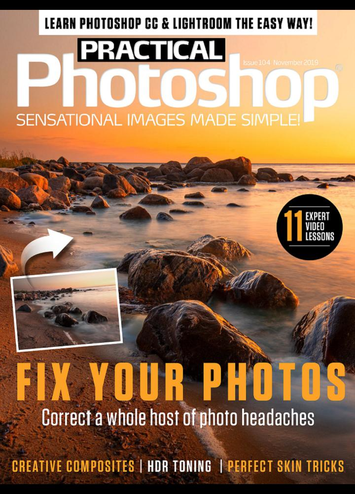 [美国版]Practical Photoshop 2019年11月 美国版 Practical Photoshop 月刊 第1张