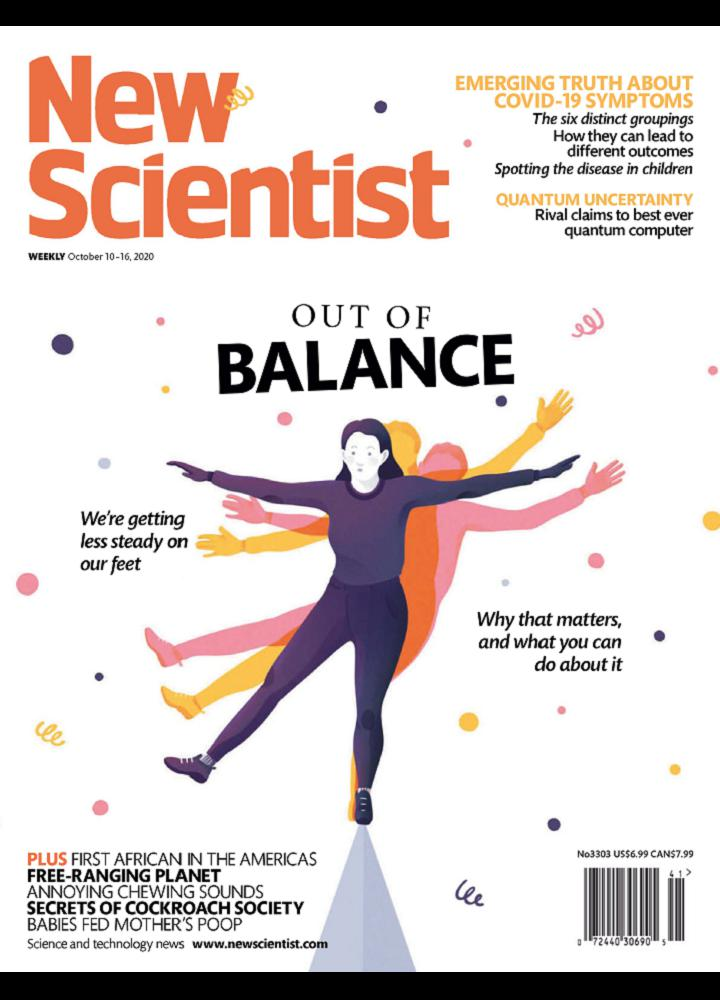 [英国版]新科学家 New Scientist 2020.10.10 英国版 新科学家 周刊 第1张