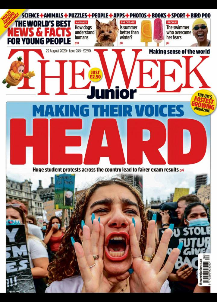 [英国版]The Week Junior 2020.08.22 英国版 The Week Junior 周刊 第1张