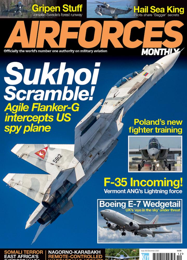 [英国版]Airforces Monthly - 2020年12月