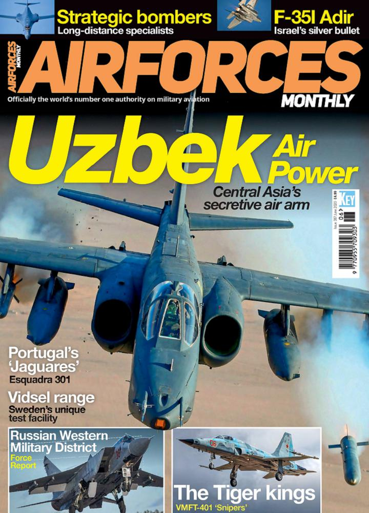 [英国版]Airforces Monthly - 2020年06月
