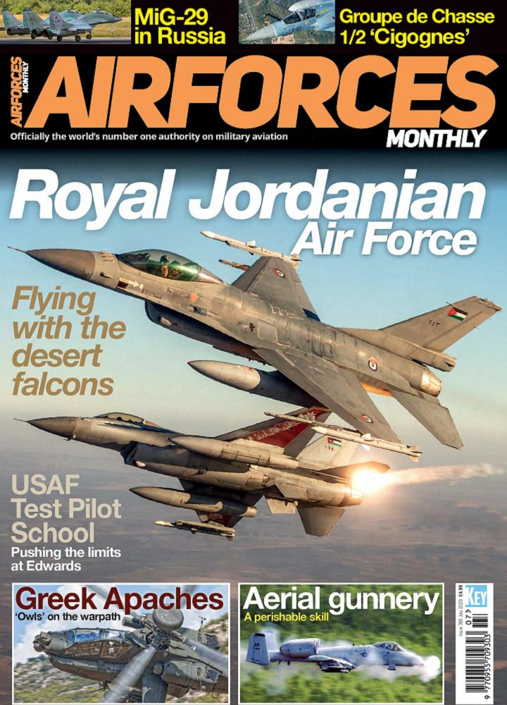 [英国版]Airforces Monthly - 2020年07月