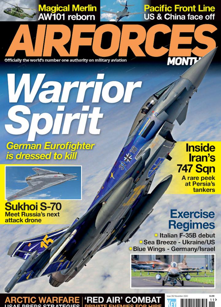 [英国版]Airforces Monthly - 2020年11月