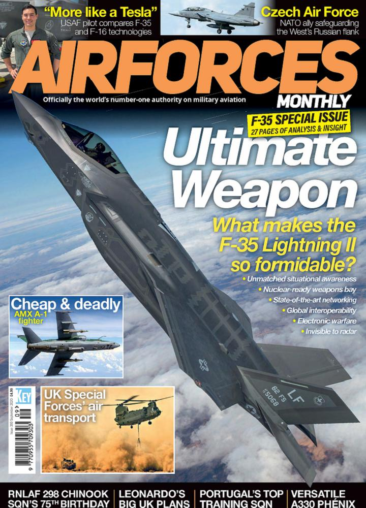 [英国版]Airforces Monthly - 2020年09月